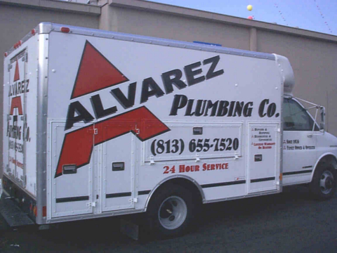 Alvarez Plumbing Vehicle Decals