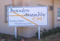 Assembly of God Sign