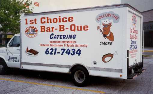 1st Choice Bar-B-Que Vehicle Decals