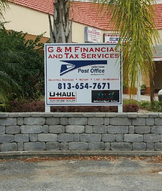 G & M Financial Sign